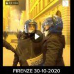 Firenze: Discussione agitata tra poliziotti