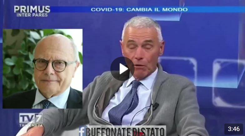 Prof. Palù padre della virologia: Troppi sedicenti virologi in TV