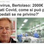 Coronavirus, Bertolaso: 2000€ per ricoverati Covid, come si può pensare che ospedali se ne privino?