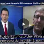 Coronavirus, medico americano denuncia: Ci inducono a falsificare i certificati di morte