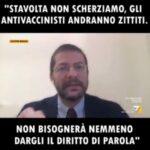 """Andrea Romano-PD: """"stavolta non scherziamo gli antivaccinisti andranno zittiti"""""""