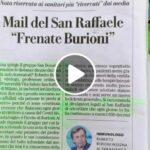 Il San Raffaele striglia Burioni e in una email l'ospedale invita il virologo a non spaventare i cittadini.