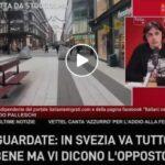 """""""QUI VIVIAMO SENZA LOCKDOWN E MASCHERINE"""" GUARDATE: IN SVEZIA VA TUTTO BENE MA VI DICONO L'OPPOSTO"""