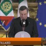 Draghi prepara strutture per isolare 160mila italiani