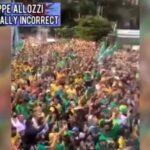 Brasile: Marea umana pro Bolsonaro, in strada per dire basta alla dittatura sanitaria