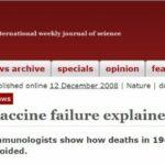 Nature: Ecco come fallisce un vaccino e diventa più pericoloso della malattia