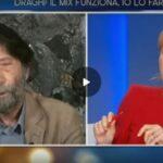Lilli Gruber fa infuriare Massimo Cacciari alla domanda: lei è vaccinato?