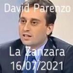 """David Parenzo se la prende con obesi: sono dei """"ciccioni malefici"""" poi con i novax """"str..zo che non si vaccina"""""""