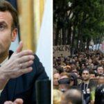 Le proteste pagano: Macron con la coda tra le gambe fa retromarcia sul Green Pass