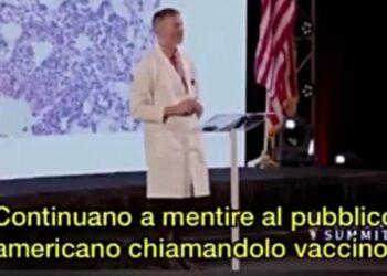 Dott. Ryan Cole: Questo non è un vaccino stiamo iniettando una tossina che produce gli stessi danni della malattia