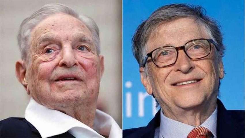 George Soros e Bill Gates investono 41 milioni di dollari nel business dei tamponi rapidi.