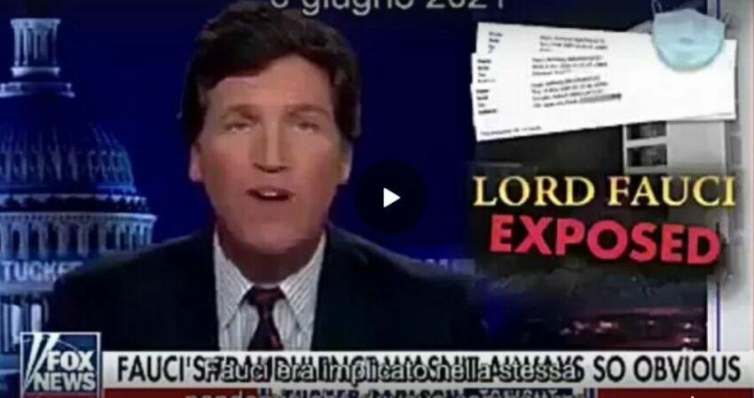 Fox News: Fauci disonesto ha ingannato tutti, era implicato nella stessa pandemia che doveva combattere