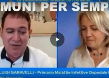 Prof. Garavelli, primario dell'ospedale di Novara: Chi è guarito dal Covid è protetto per tutta la vita e non necessita di vaccinazione