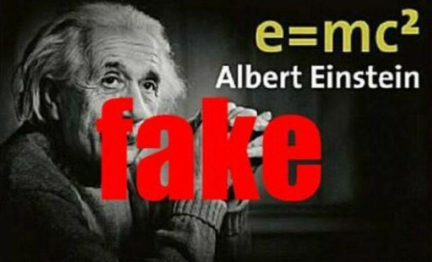 La formula E=mc2  inventata quattro anni prima della nascita di Albert Einstein dal fisico Samuel Tolver Preston
