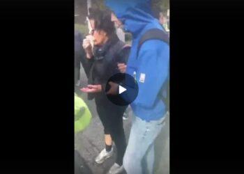Portuali di Trieste: donna incinta colpita con una manganellata in viso dalle forze dell'ordine